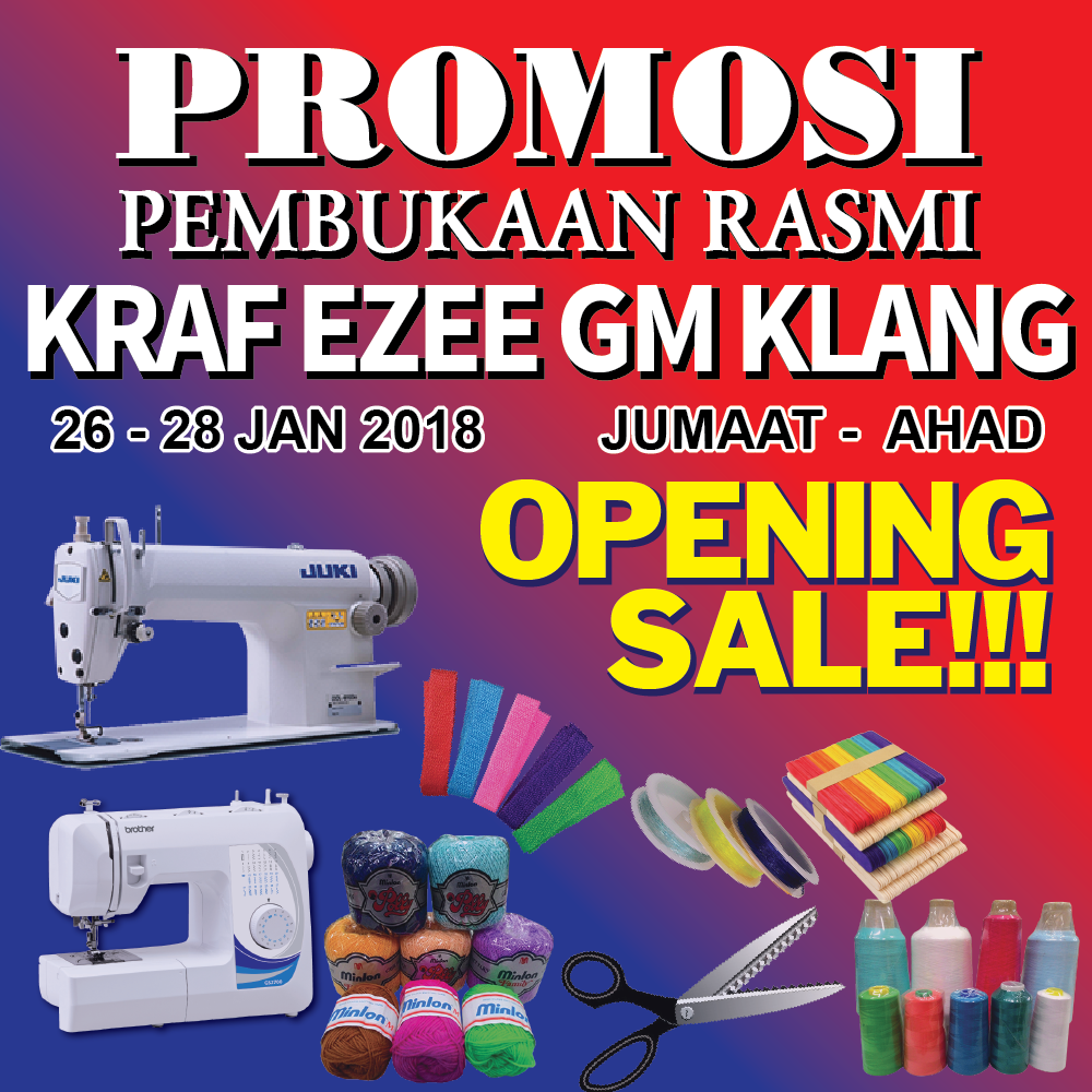 Opening Sale Gm Klang