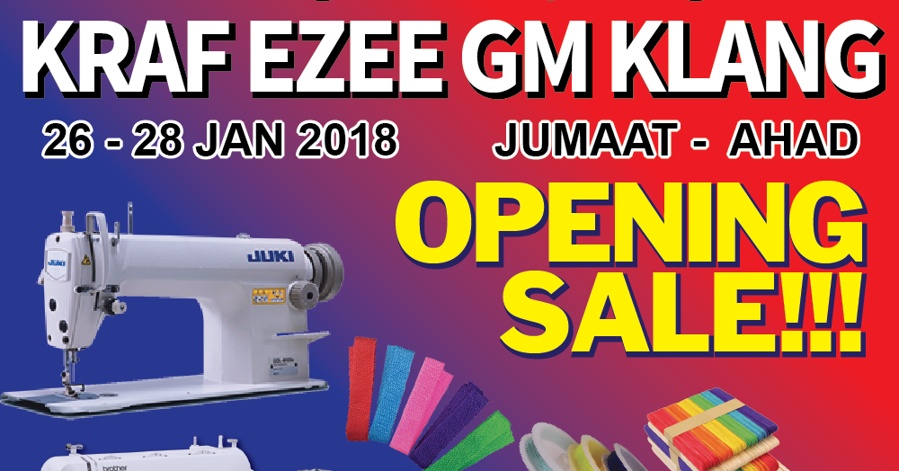 Opening Sale Gm Klang