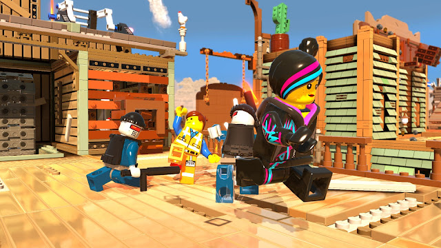 Screenshot of The LEGO Movie - Videogame