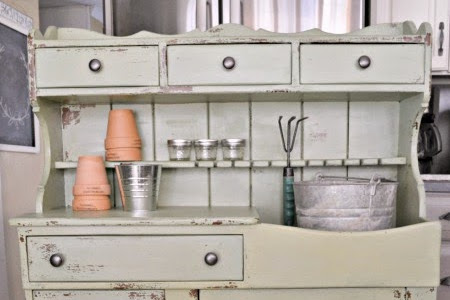 How to Turn a Dry Sink into a Potting Bench