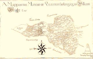 William Wright's Quarlton Estate Plan of 1727.