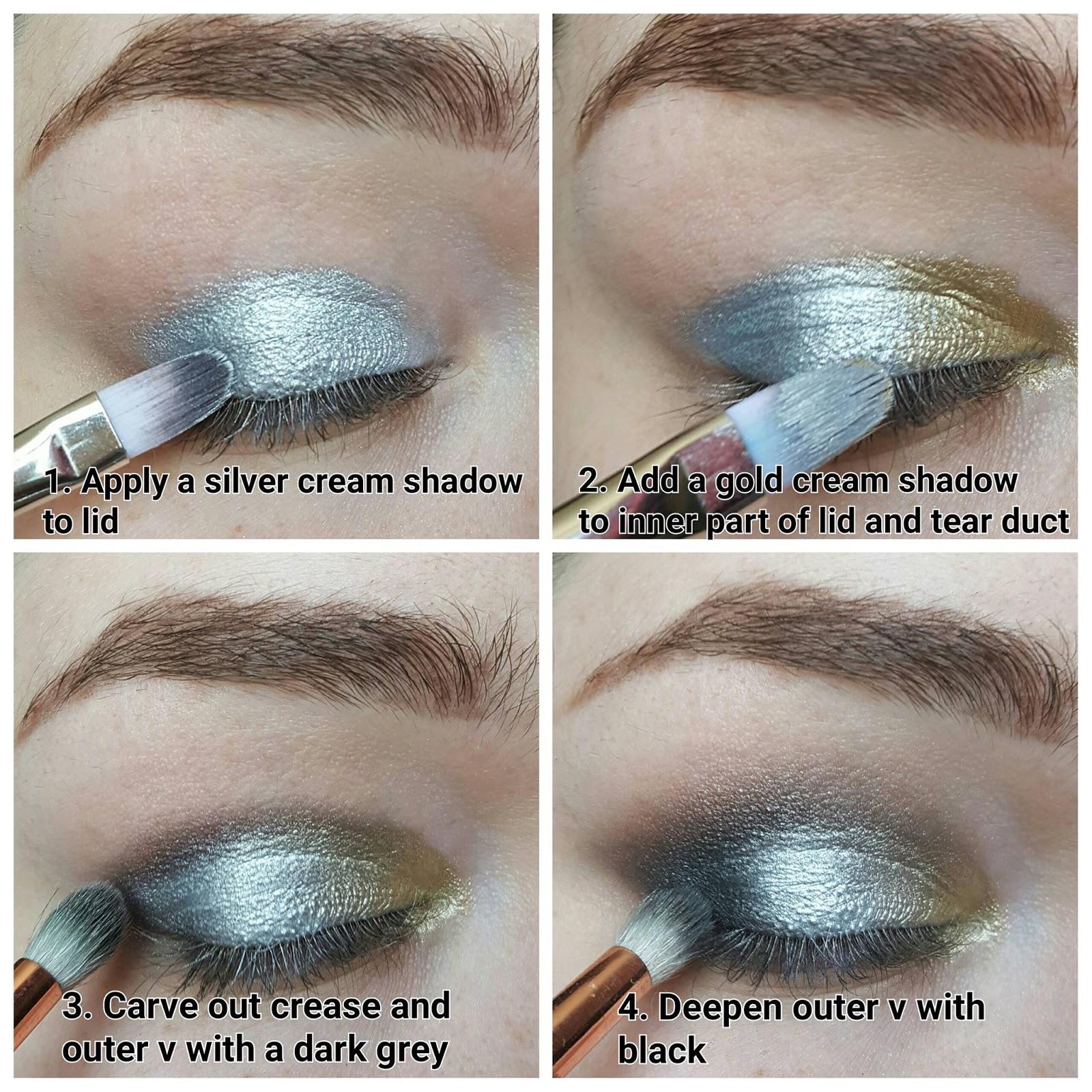 Precious metals eyes tutorial ft illamasqua liquid metal palette metallic eyes tutorialillamasqua baditri Image collections