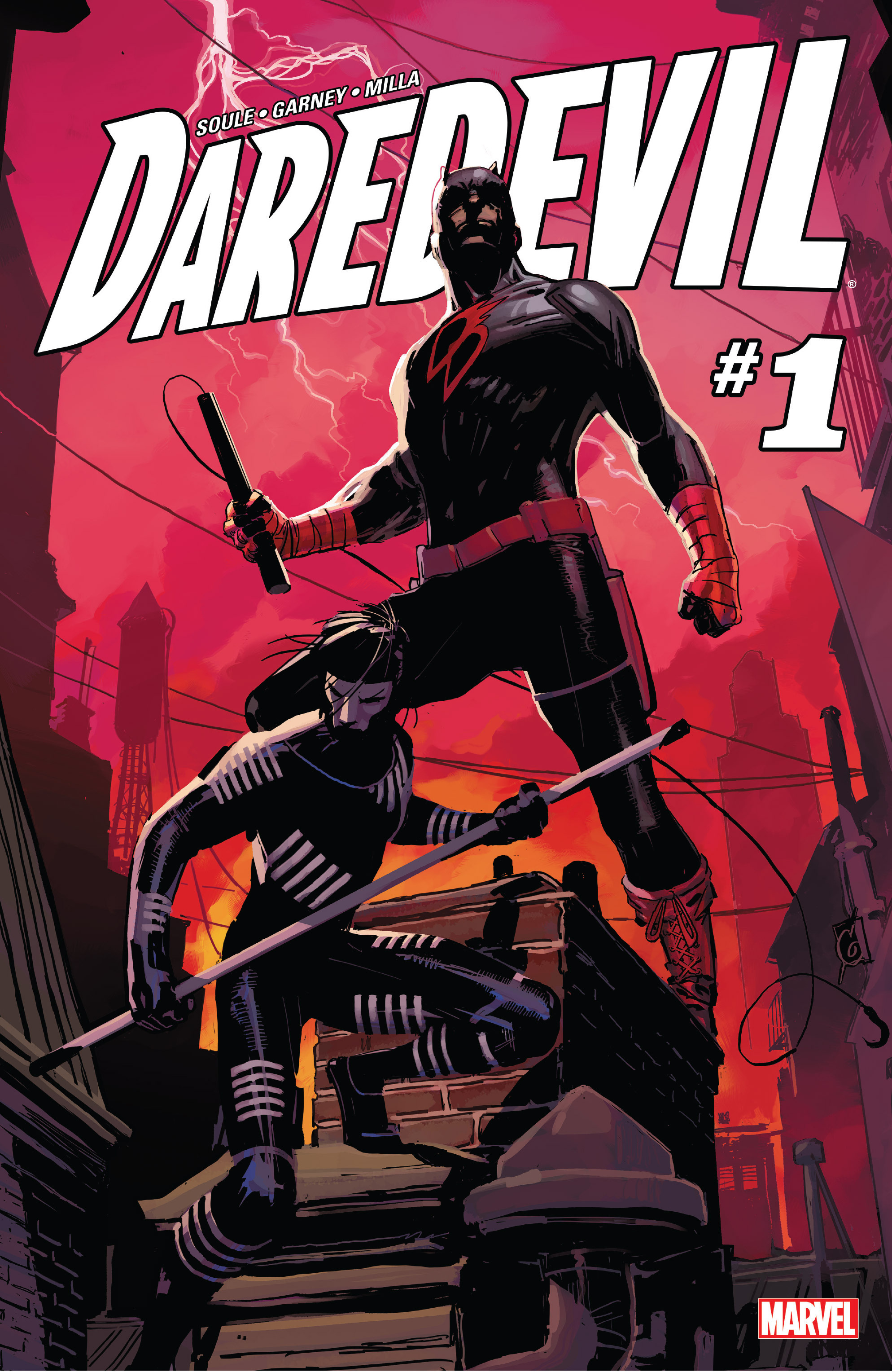 Daredevil (2016) 1 Page 1