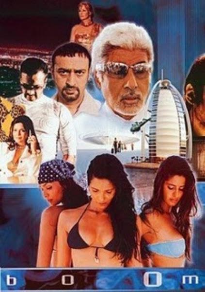 Poster of Boom 2003 DVDRip Hindi UnCut Version Full Movie Download
