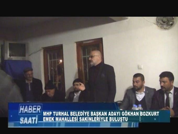 Mhp Turhal Belediye Başkan Adayı Gökhan Bozkurt