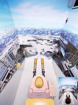 lustige Klobilder - Das perfekte Klo für den Skifahrer