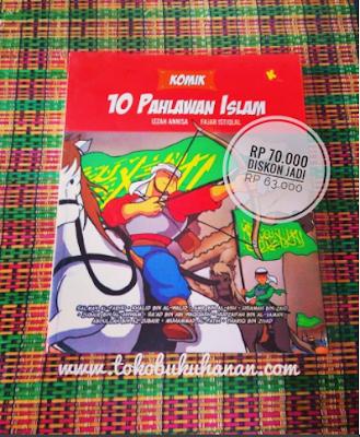Buku komik 10 pahlawan Islam