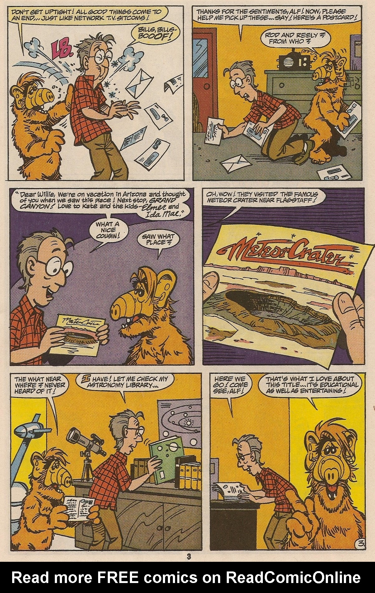 Read online ALF comic -  Issue #47 - 5