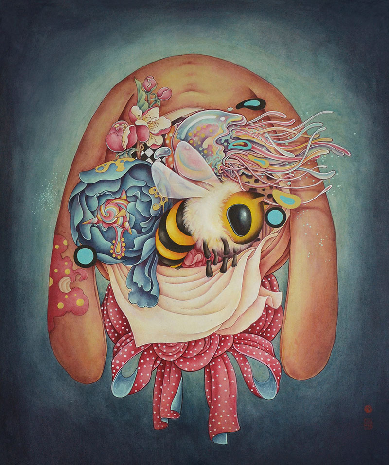 Container Surreal Paintings By Alice Lin