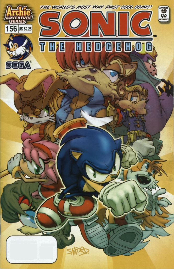 Read online Sonic The Hedgehog comic -  Issue #156 - 1