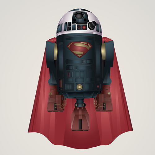 05-Superman-Steve-Berrington-Batman-v-Superman-and-their-Superhero-R2-D2-Friends-www-designstack-co