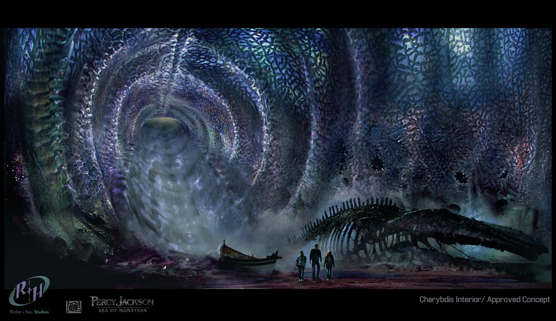 Sebastian Meyer: Percy Jackson: Sea Of Monsters Concept Art
