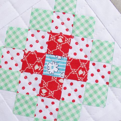 patchwork block - granny square quilt