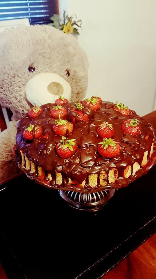 Ivina jagoda torta-Iva strawberry cake