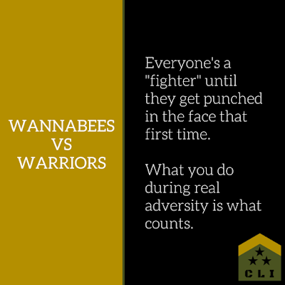 Are You a Wannabee or a Warrior?