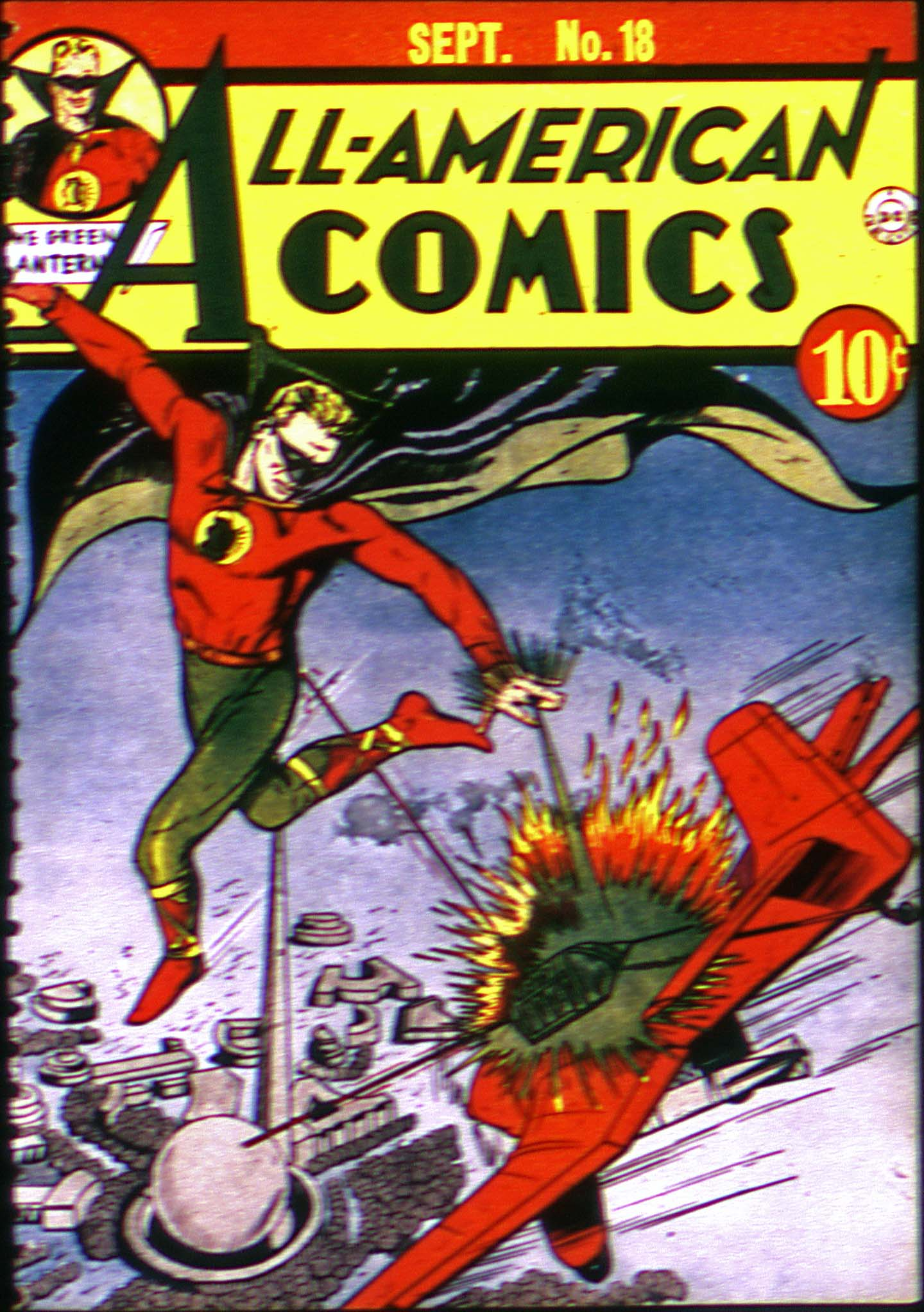 Read online All-American Comics (1939) comic -  Issue #18 - 1