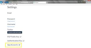 settings onename.com