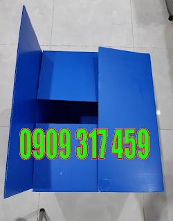 thùng carton nhựa, thùng nhựa carton, thùng nhựa kiểu mì gói, giá thùng nhựa danpla