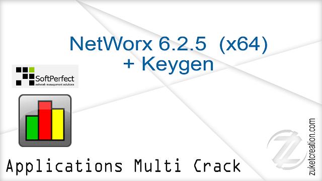 NetWorx 6.2.5  (x64) + Keygen    |  12.6 MB