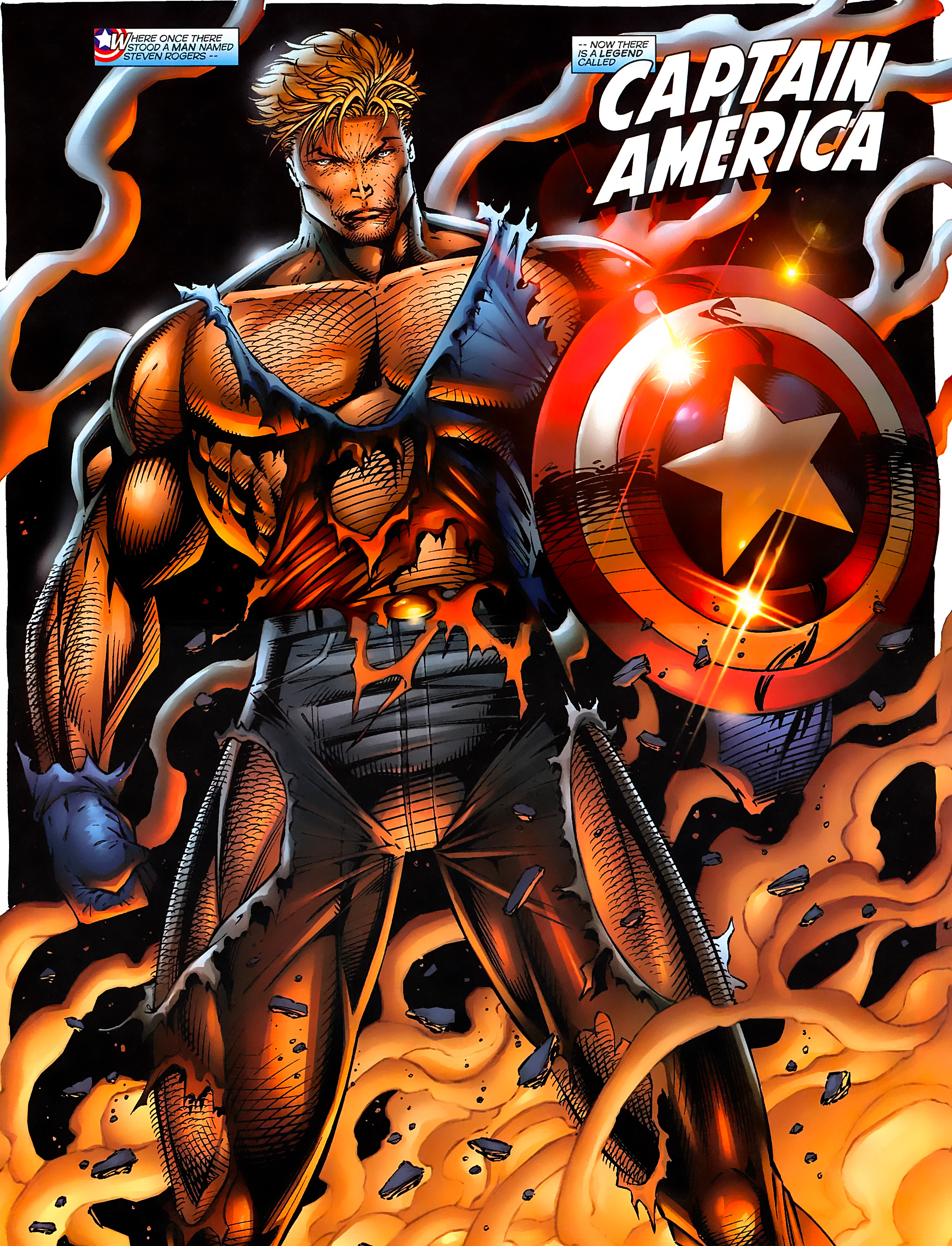 Captain America (1996) Issue #1 #1 - English 34
