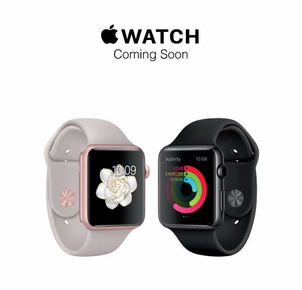 Apple Watch Available at Virgin Megastore on October 22