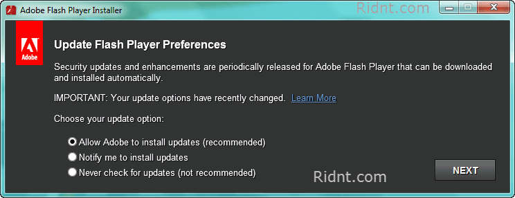 Adobe Flash Player 2017