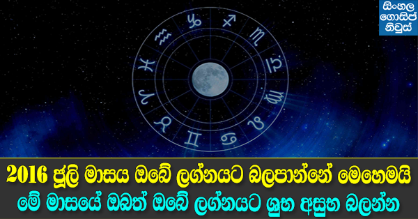 Astrology predictions 2016 - July 2016 Horoscope, free July 2016 Monthly astrology