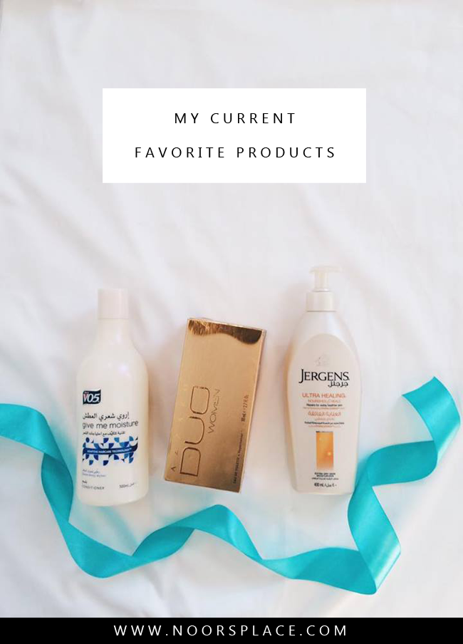 My current favorite products noors place blog