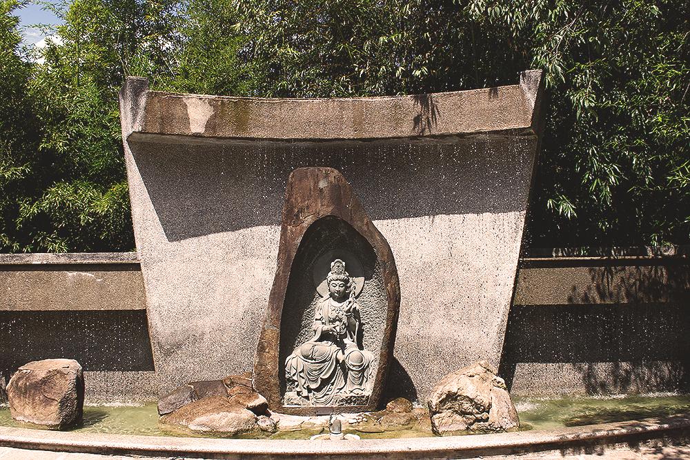 fonte templo budista zu lai