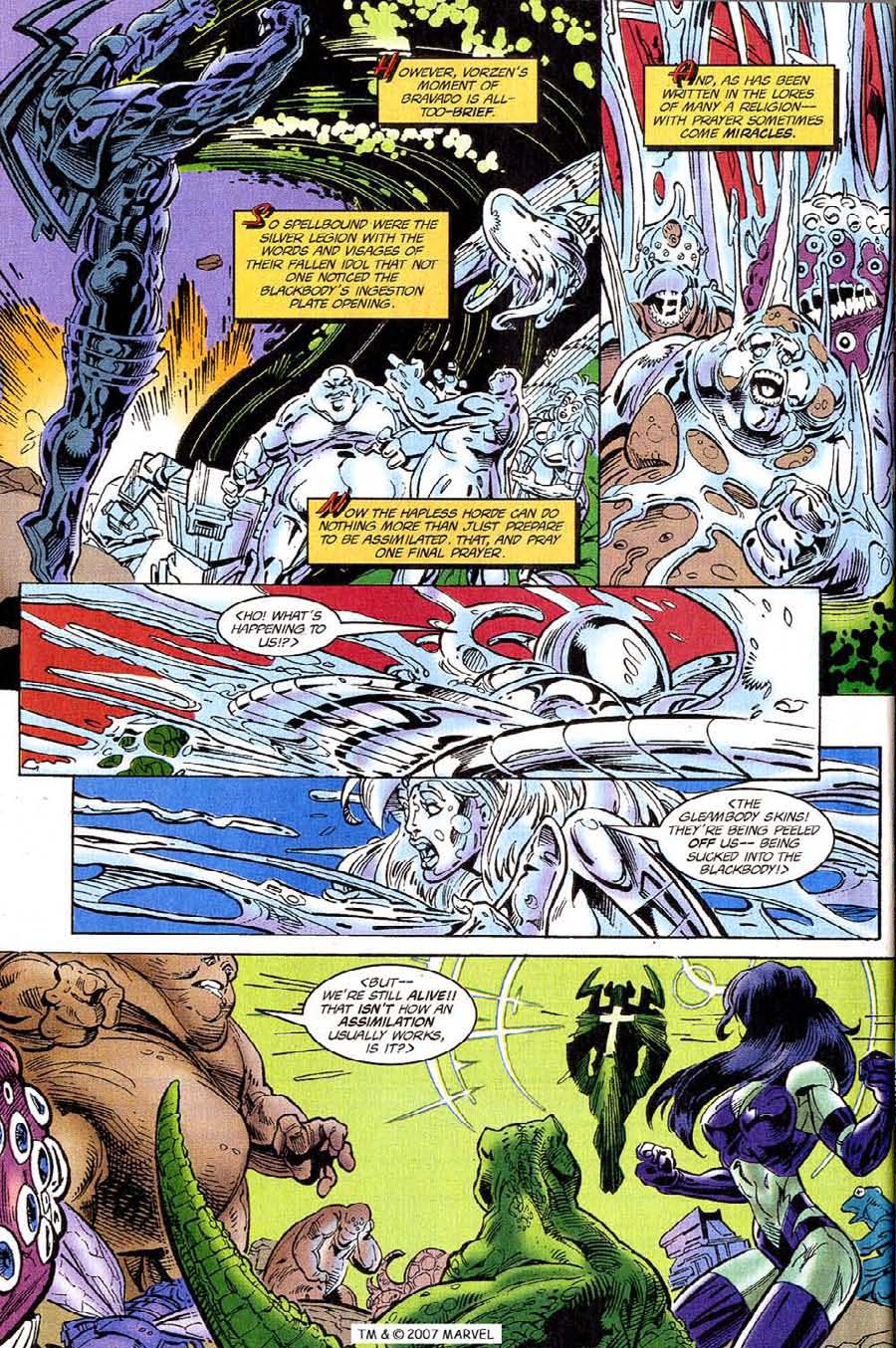 Silver Surfer (1987) Issue #118 #126 - English 28