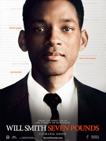 Poster Of Seven Pounds In Dual Audio Hindi English 300MB Compressed Small Size Pc Movie Free Download Only At worldfree4u.com