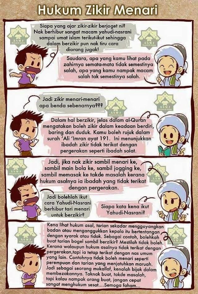 Tazkirah Jumaat #24 : Hukum Zikir Menari