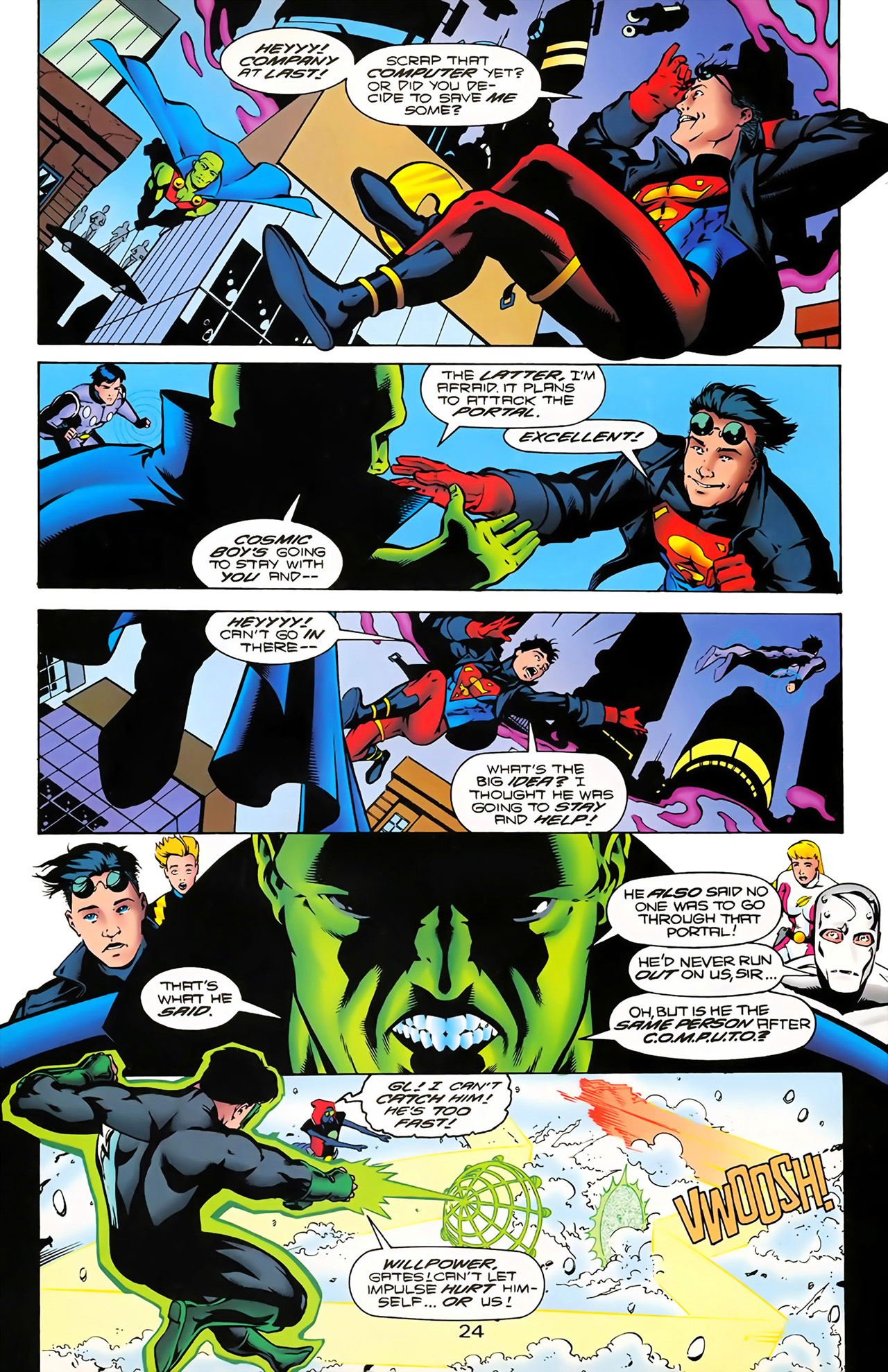Legion of Super-Heroes (1989) 100 Page 22