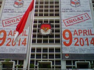Penyelenggara Pemilu Rentan dimanipulasi - Kantor KPU, Jl. Imam Bonjol, Jakarta Pusat - www.jppr.org, JPPR, Pantau Pemilu