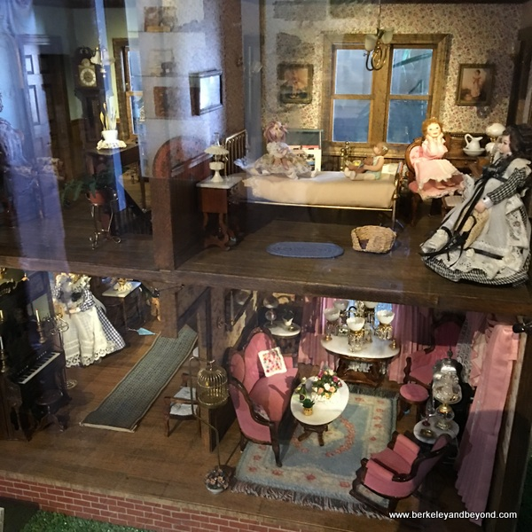 Dolores Webb doll house at Benicia Historical Museum at the Camel Barns in Benicia, California