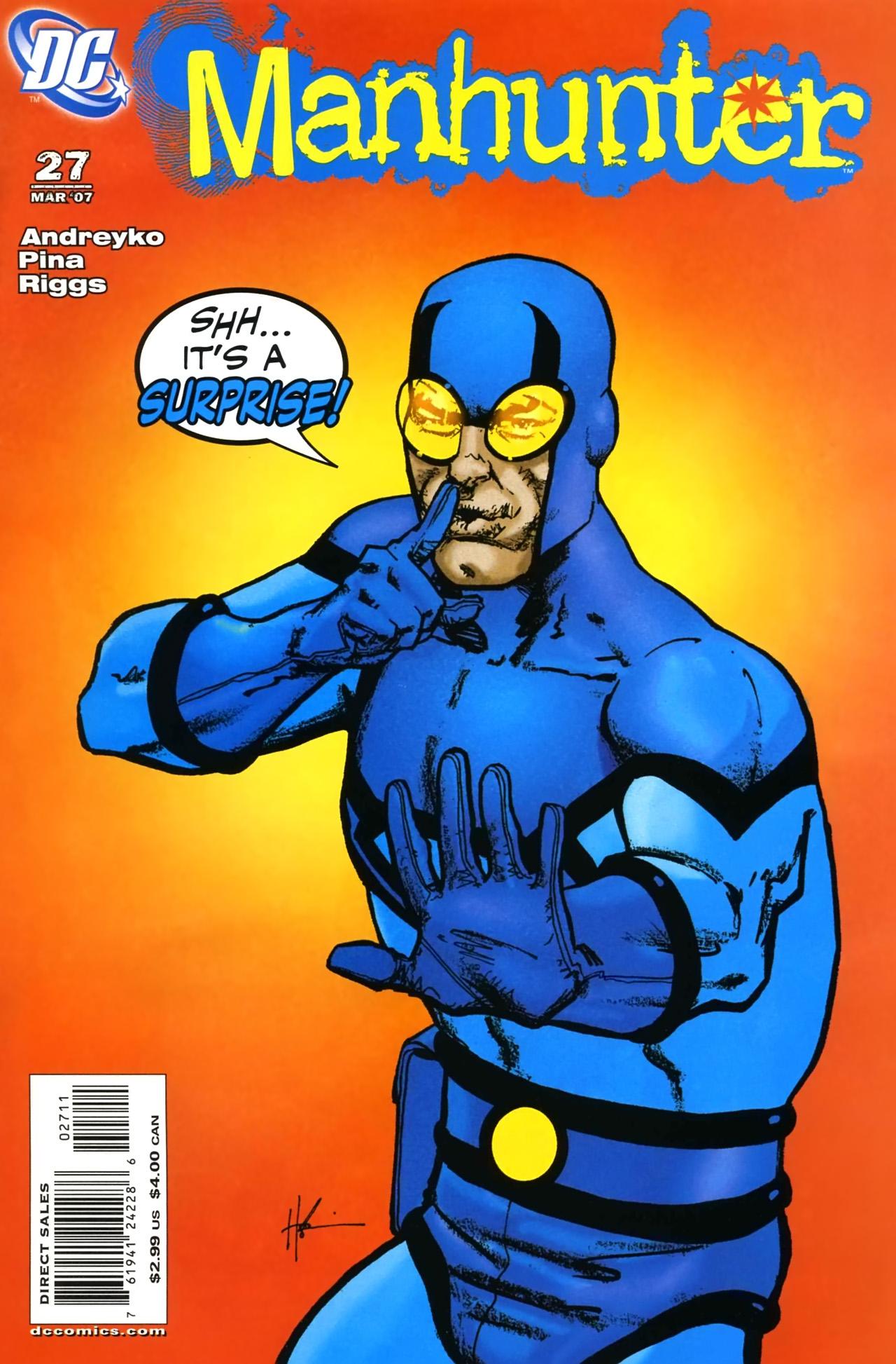 Manhunter (2004) issue 27 - Page 1