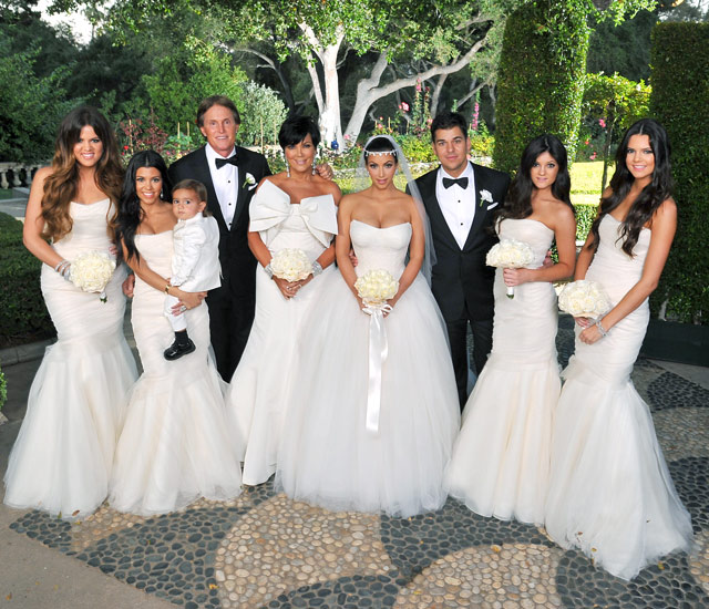 Khloe Kardashian Wedding Gown: Castle Manor: Wedding Of The Week