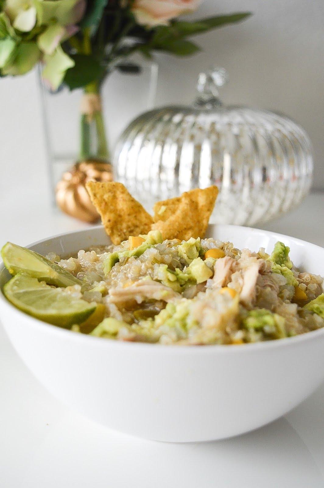 496de3b1e Healthy, Hearty, Quinoa White Chicken Chili | Mr. and Mrs. Powell
