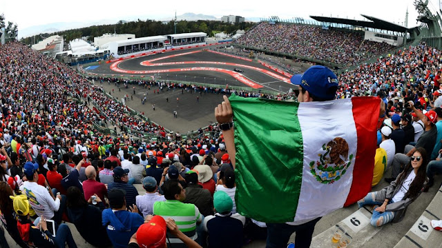 Gran Premio de México es considerado como el mejor de Fórmula 1