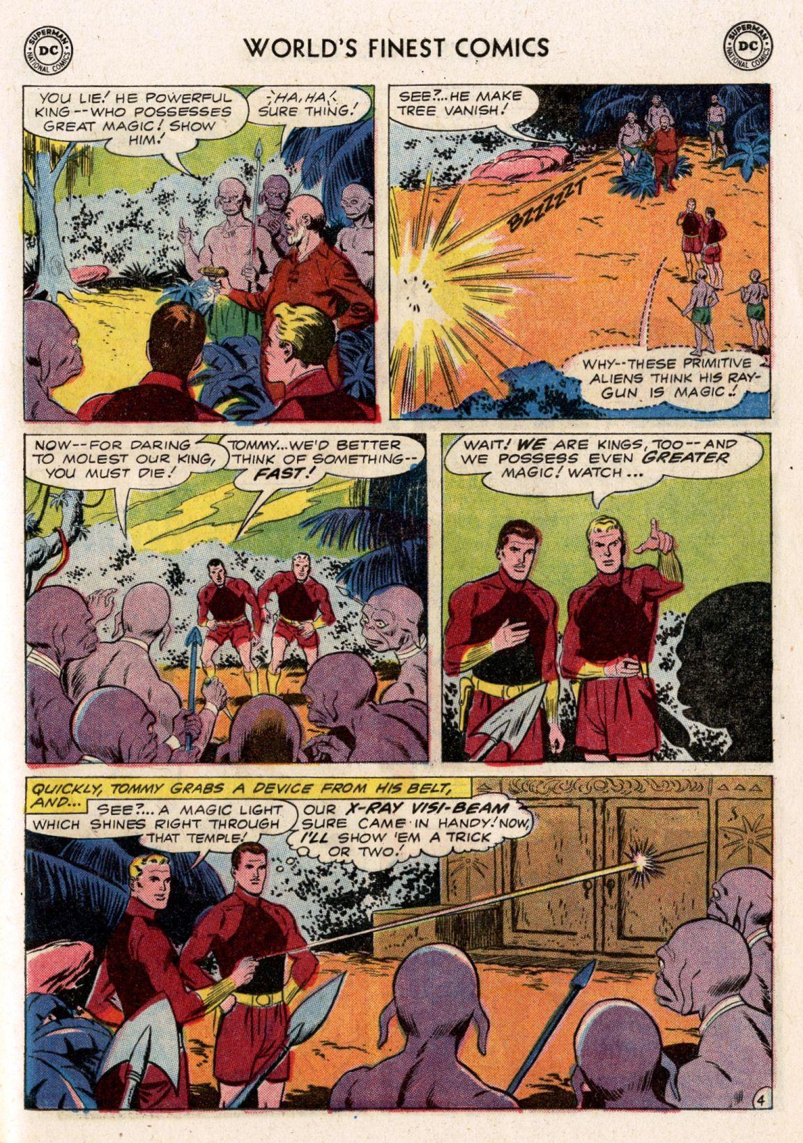 Read online World's Finest Comics comic -  Issue #119 - 21
