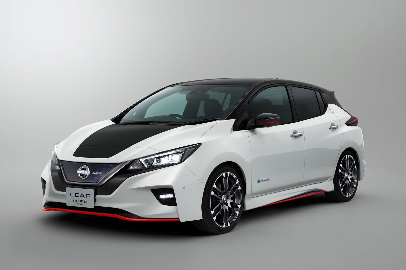 Το νέο Concept της Nissan LEAF NISMO