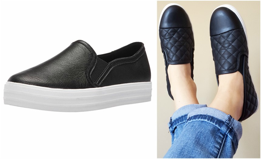 These Double Up Fashion Sneakers reminded me of this Steve Madden pair and they're on sale for only $30 (reg $65).