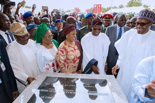 Osun @ 25: Buhari Commissions Aregbesola's Utra-Modern College In Osogb; View Photos