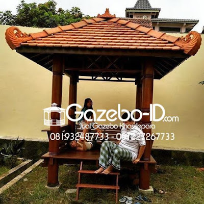 Gazebo Pesanan Pelanggan