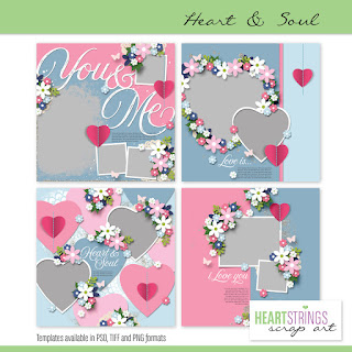 Creative Team, Annemarie, for Heartstrings Scrap Art CT - Daisy Love (Free With Any Purchase)