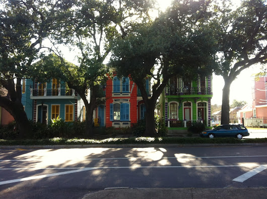 Walking in New Orleans