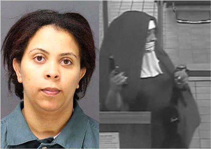 Una dominicana se declara culpable en corte federal de Nueva Jersey por robo de banco vestida de monja