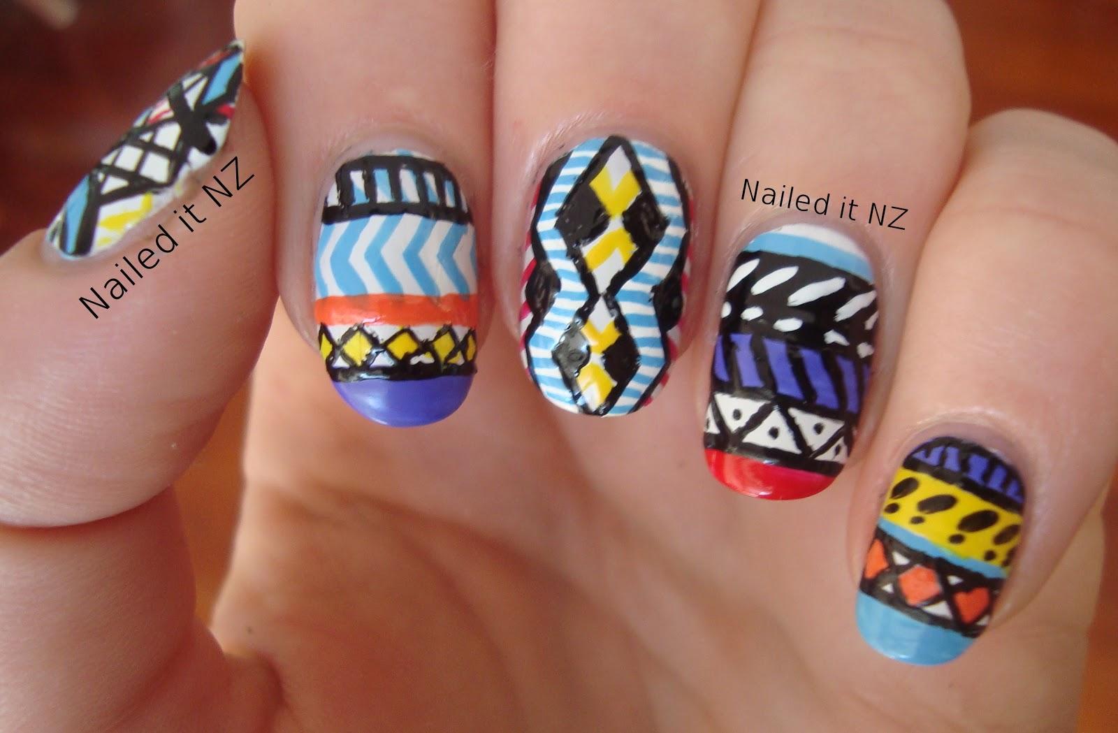 Crazy Nail Art Designs | Nail Designs, Hair Styles ...