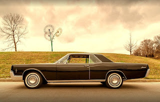 1966 Lincoln Continental Luxury Coupe Side Left