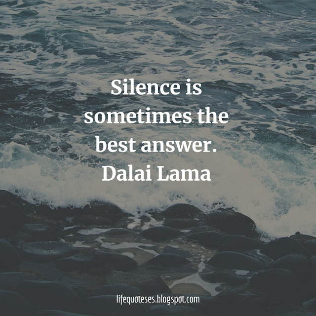 famous Silence Quotes